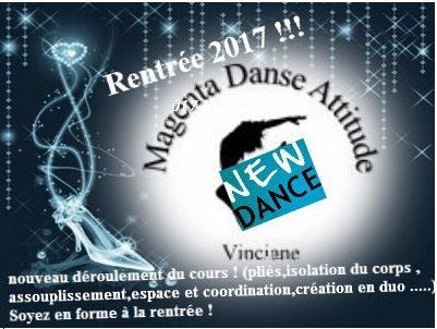 nouveau programme de danse en janvier 2017