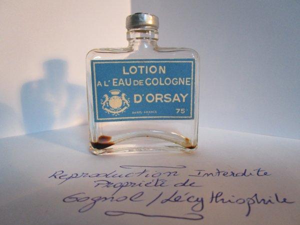 EAU DE COLOGNE D'ORSAY de D'Orsay