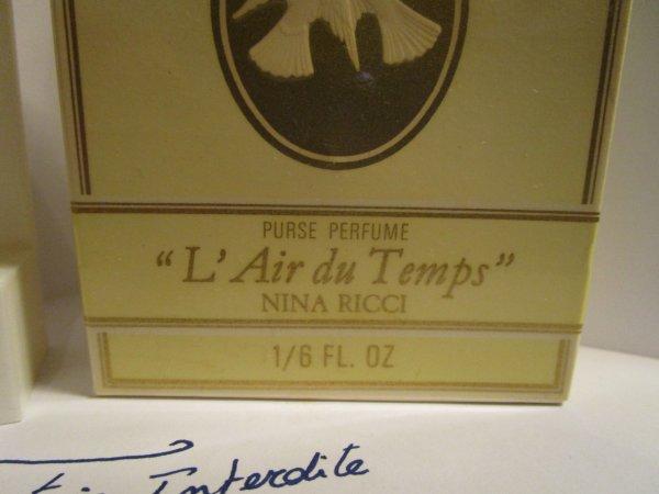 L'AIR DU TEMPS de Nina Ricci