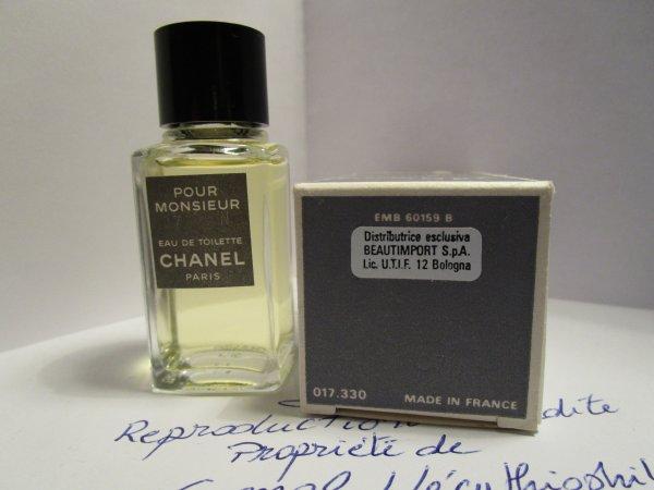POUR MONSIEUR de Chanel