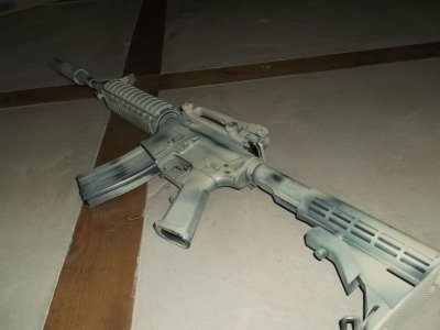 review m4 gbb-r  WE