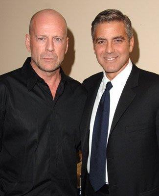 George Clooney/ Bruce Willis