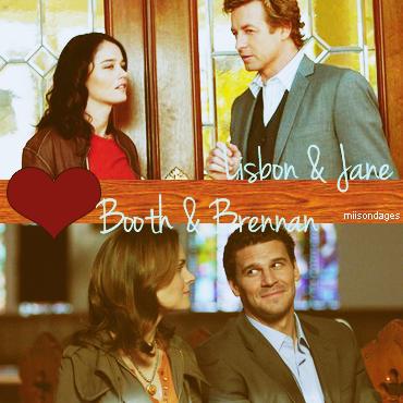 Lisbon/ jane et Booth/ brennan