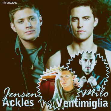 Jensen Ackles/ Milo Ventimiglia
