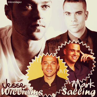 jesse Williams/ Mark Salling