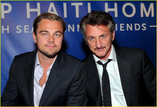 Leonardo Dicaprio/ Sean Penn