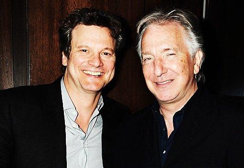 Colin Firth/ Alan Rickman