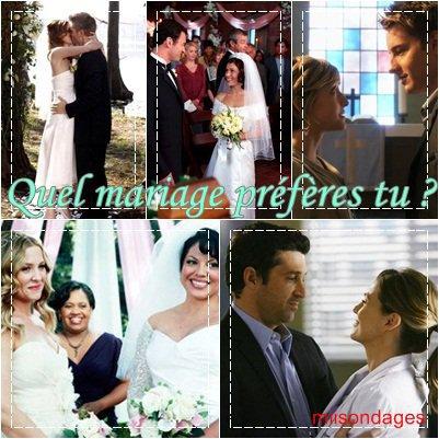 mariage de série