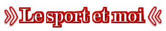 SPORT ! (article n°4)