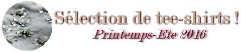 SELECTION DE TEE-SHIRTS (article n°6)