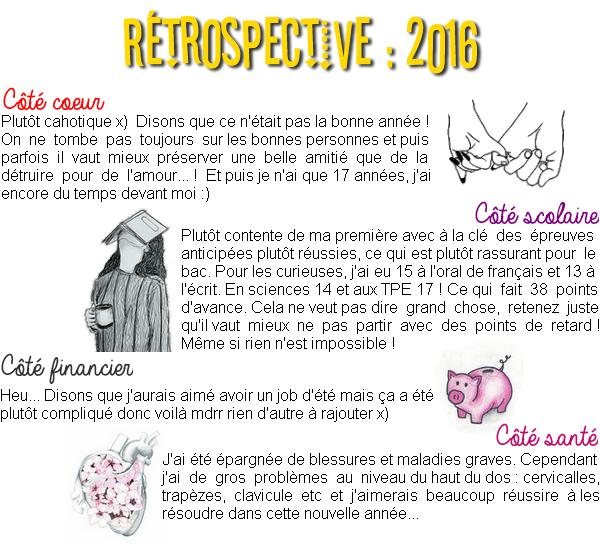RÉTROSPECTIVE : 2016 (article n°17)