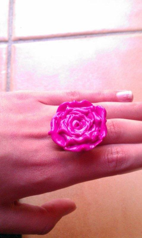 Bague Rose  Framboise