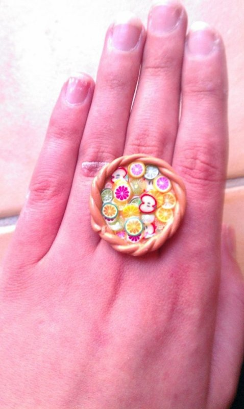 Bague Tarte Au Fruit