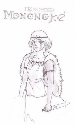 San Princesse Mononoke Magic Pen