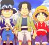 Ace Sabo et Luffy!!!