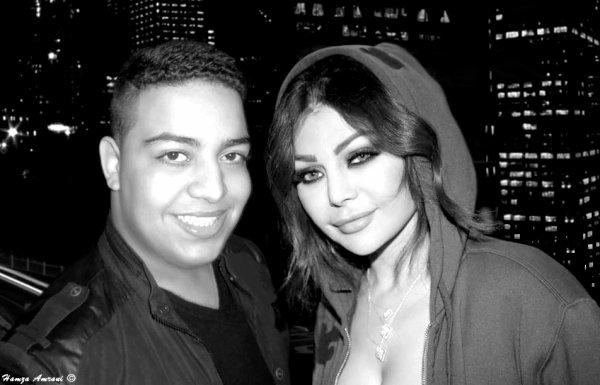 Hamza Amrani & Haifa Wehbe