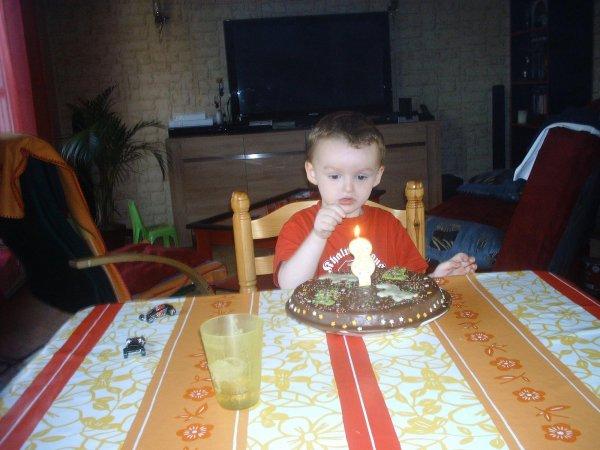 les 3 ans de mon fils