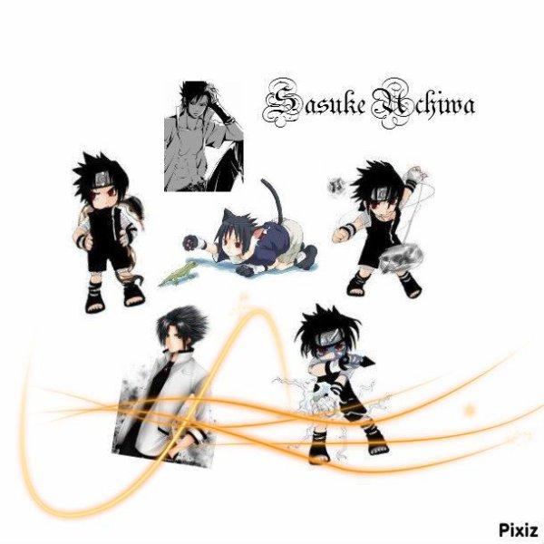 Présentation de vos guides....(suite).....Sasuke Uchiwa.