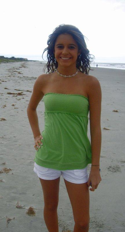 Mon sourire sur la plage