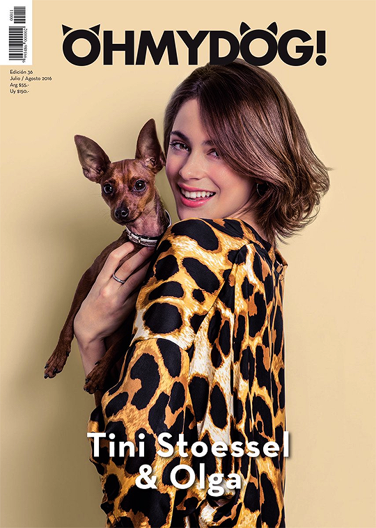 Photoshoot pour le magazine OH MY DOG !