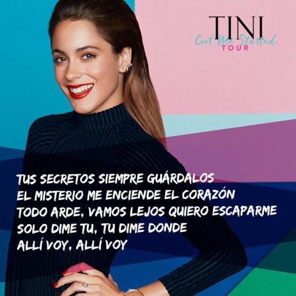 News de Tini le 11/12/2016