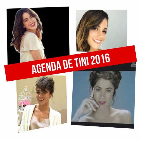 Agenda de Tini 2016
