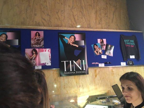 News de Tini le 19/03/2017