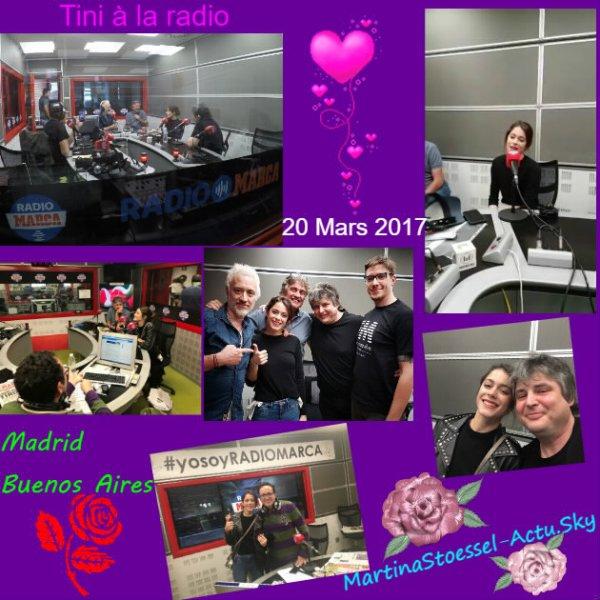 News de Tini le 20/03/2017