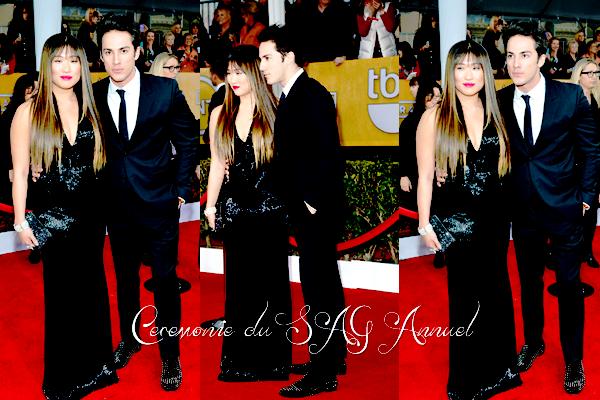 APPARITION / Le 27 Janvier Michael et Jenna sont sortis à une cérémonie du 19ème annuel. / Vos Avis ? ♥