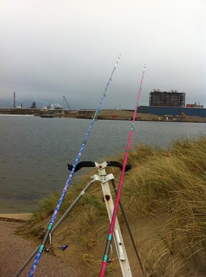 Entrainement dans le Bassin Minéralier de Dunkerque (21-04-12)