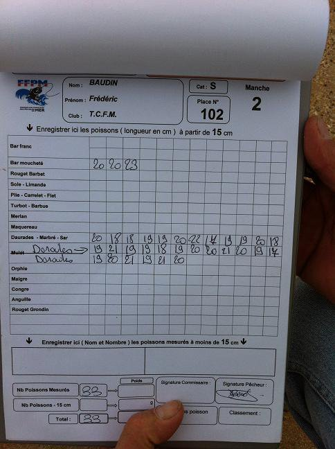 Championnat de France Adultes Bord de Mer 2012 - La Tremblade (7 au 10/10/2012)