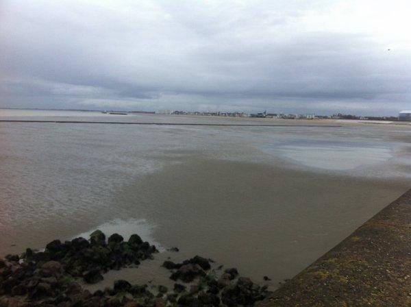 Fermeture de la jetée de Malo pour travaux (février-avril  2014)