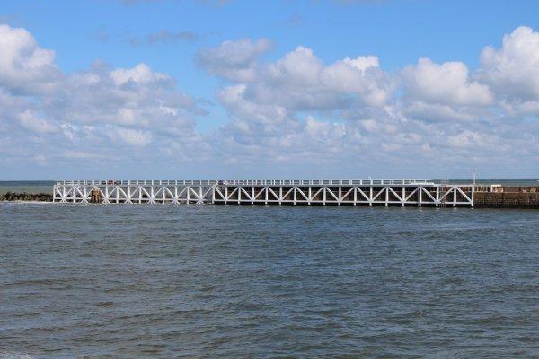 Travaux Jetée de Malo - Tournage du film Dunkirk