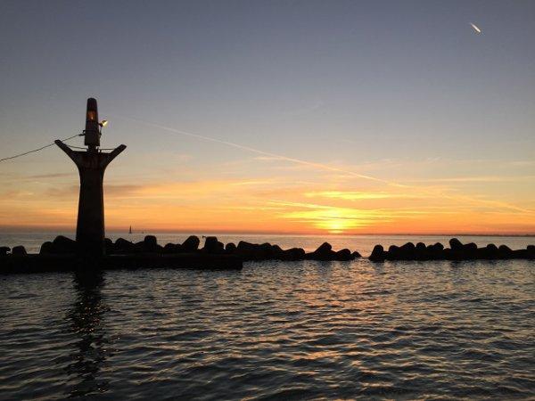 Pêche au bar en bateau à Dunkerque (23/08/16)