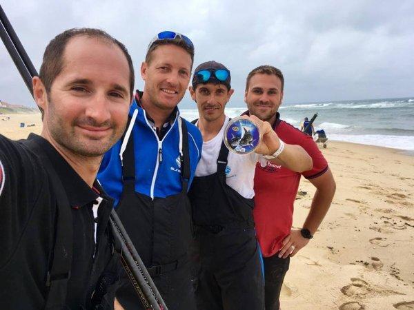 Qualification équipe de France 2017 de surfcasting (06-2017)