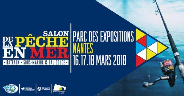 Retrouvez Sunset Fishing au salon des pêches en mer de Nantes 2018