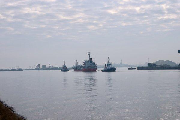 Pêcher dans le bassin minéralier de Dunkerque (25/03/2018)