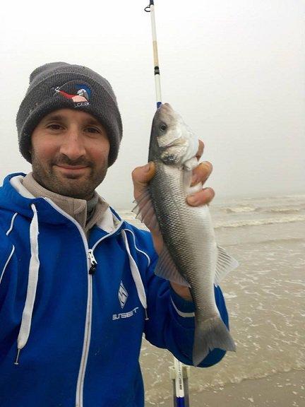 Entrainement digue du Braek Présélections pêche en bord de mer 2018