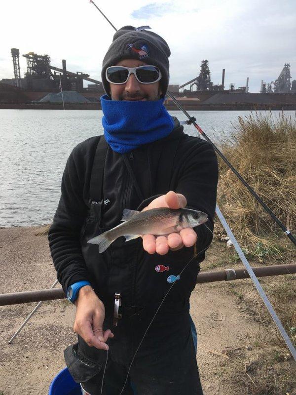 Pêche dans le bassin minéralier de Dunkerque (26/08/18)