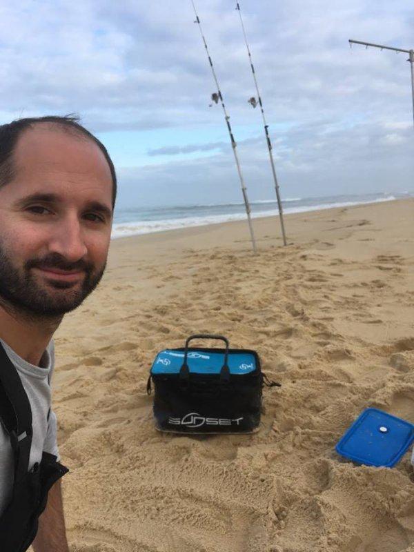 Entrainement championnat de France surfcasting 2018 (14/09/18)