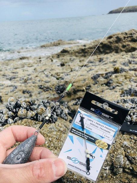 Pêche de la roussette à la Guimorais (15/05/21)