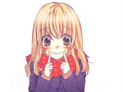 Il faut sourire pour être belle.★