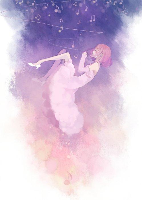 La musique creuse le ciel. ~♪