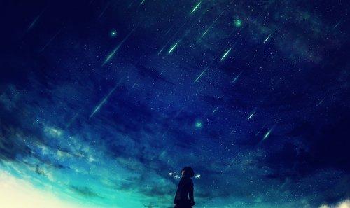 Il y a des larmes d'amour qui durent plus longtemps que les étoiles du ciel.
