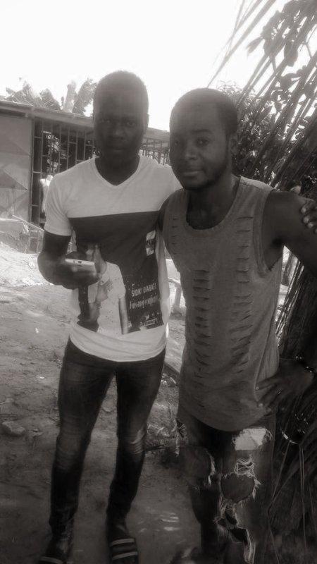 moi et mon franjin thoma le beninoi