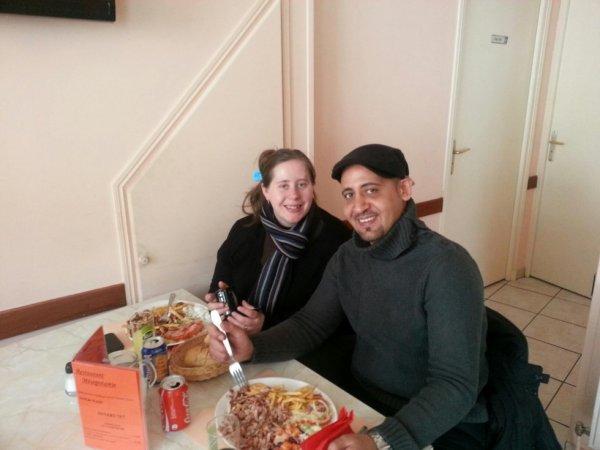 moi et tomtom o kebab ou travail mamour