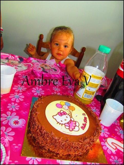 Eva à 2 ans