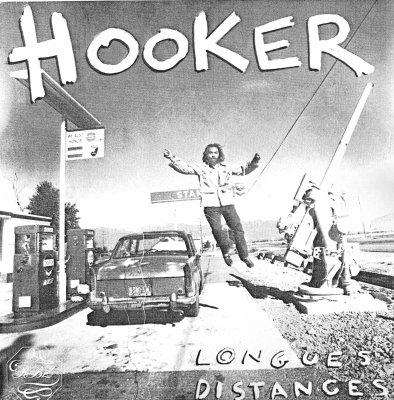 """POCHETTE DE DISQUE /  ENFIN LE SON  DU 45 TOURS DES"""" HOOKER """"/ BERLIN / LONGUES DISTANCES/"""
