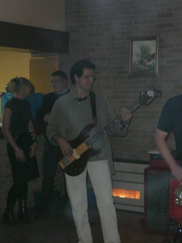 Hooker, décembre 2008, à l'anniversaire de Marie ! Salle des fêtes de Brias !