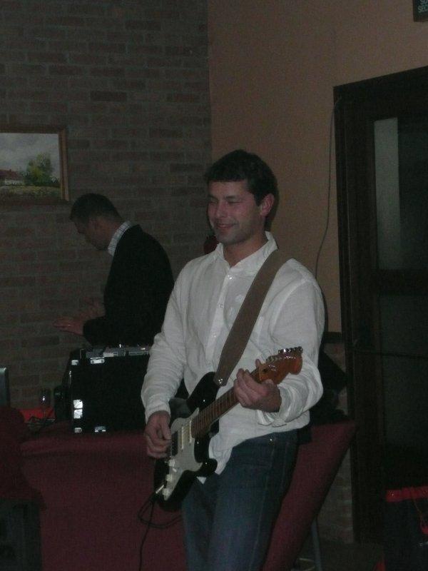 Hooker, décembre 2008, à l'anniversaire de Marie !